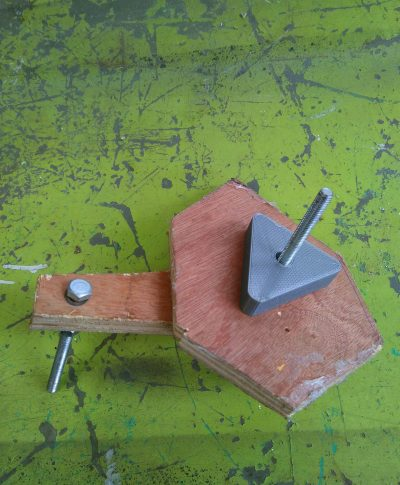 You can build a coil winder from leftover scraps of wood.